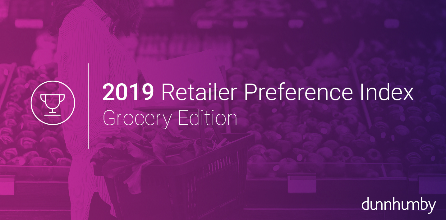 2019 dunnhumby Retailer Preference Index: Grocery Channel Edition