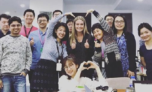 From London to Shanghai - Louise Radcliffe, Pricing Manager