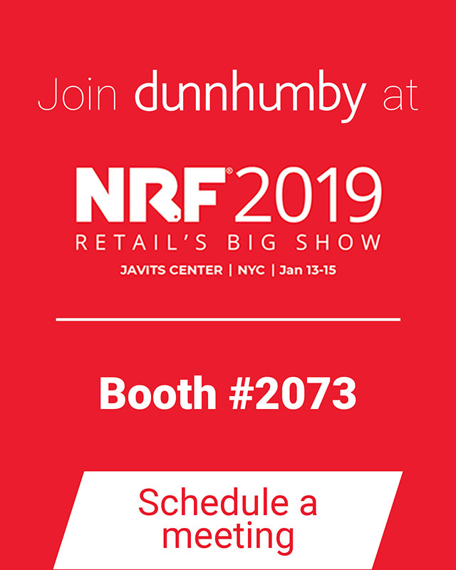 Join/meet dunnhumby at NRF 2019 NYC Booth #2073