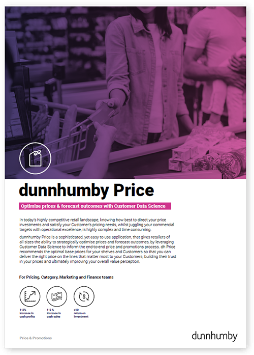 Optimise prices & forecast outcomes with Customer Data Science