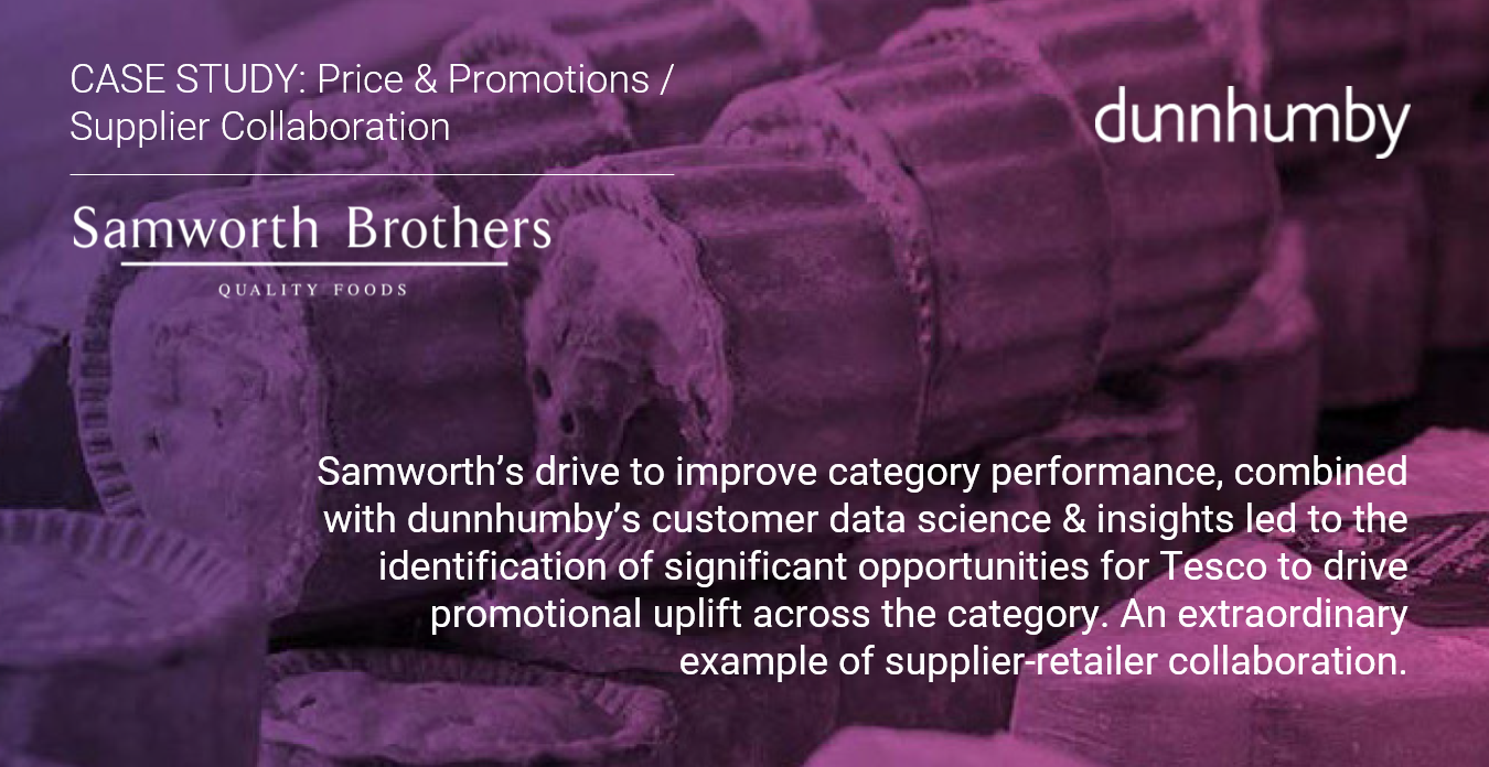 Samworth Case Study - Price & Promotions / Supplier Collaboration