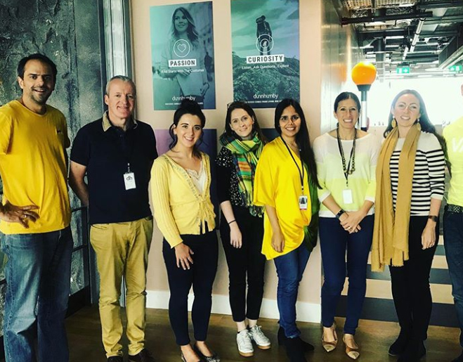 Hello Yellow Young Minds fundraiser - dh Thrive